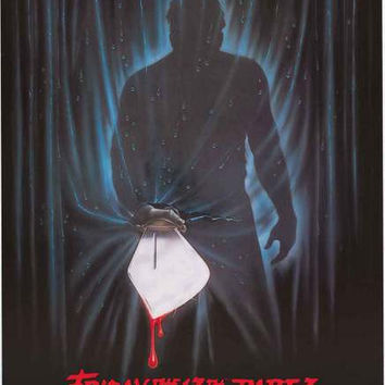 Friday the 13th Part 3 Movie Poster 24x36