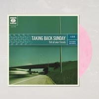 Taking Back Sunday - Tell All Your Friends Limited Pressing LP | Urban Outfitters