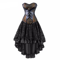Gothic Steampunk Corset Dress