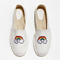 UO Rainbow Espadrille | Urban Outfitters