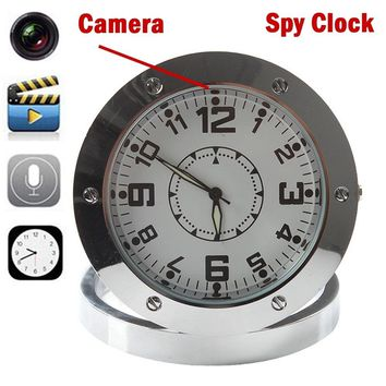 520 Clock Camera, Mini Table Clock Hidden Camera With Motion Detection Full HD SPY Clock Camera,Watch Camera,Video Recorder,With