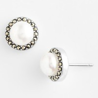 Women's Judith Jack Freshwater Pearl Stud Earrings