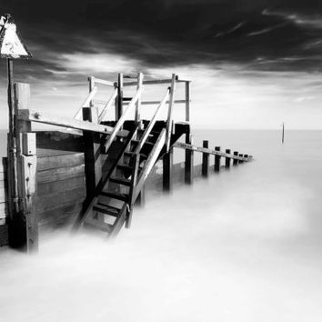 Felixstowe, Art Print, Long exposure Photography.