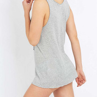 Calvin Klein Jeans Reissue Grey Tank Top - Urban Outfitters