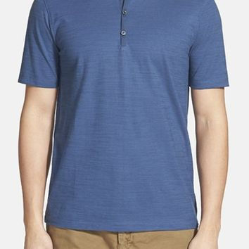 Men's Calibrate Slub Short Sleeve Henley