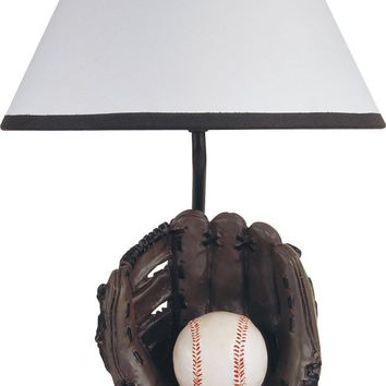 Resin  Baseball Table Lamp In Traditional Style - Multicolored