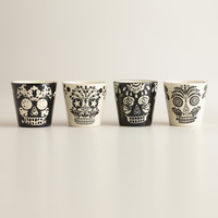 Muertos Shot Glasses, Set of 4 - World Market