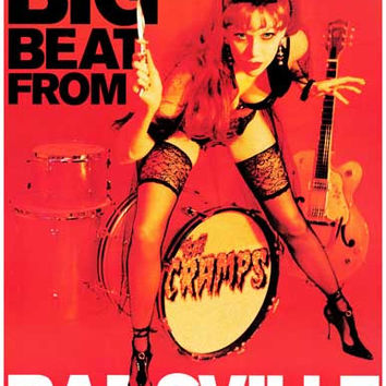 The Cramps Big Beat From Badsville Poster 11x17