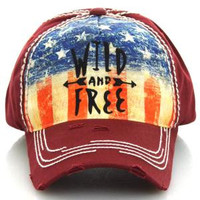 Wild and Free Vintage Ball Cap