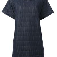 Maria Calderara quilted T-shirt dress