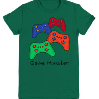 Game Monster ~ Youth Tee ~ Video Gamer Shirt