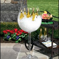 Giant Wine Glass - Wine Glass Cooler