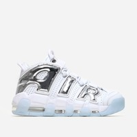 Nike Sportswear Air More Uptempo 917593 100 | White/Chrome | Footwear - Naked