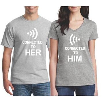 Mr and Mrs Matching Couples Shirts   Our T Shirt Shack