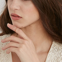 Shashi Pebble Midi Ring