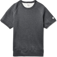 Todd Snyder + Champion - Mélange Fleece-Back Cotton-Blend Jersey Sweatshirt