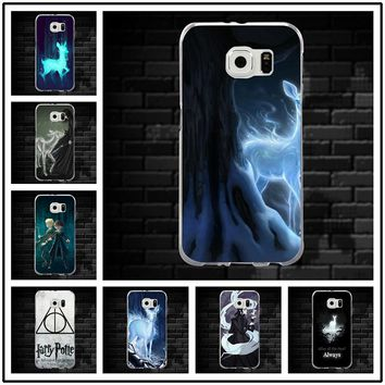 Silicon Cases for Samsung Galaxy Note 2 3 4 5 8 S3 S4 S5 Mini S6 S7 S8 S9 Edge Plus Fashion Harry Potter Inspired Always Quotes