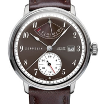 Graf Zeppelin LZ129 Hindenburg Power Reserve Automatic Watch 7060-5