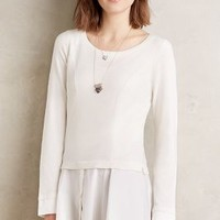 Angel of the North Pavilion Pullover in Ivory Size: