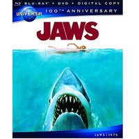 Walmart: Jaws (Blu-ray + DVD) (Universal 100th Anniversary Collector's Series) (Widescreen)