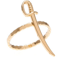Bing Bang The Sword Ring in Yellow Gold