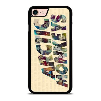 ARCTIC MONKEYS CHARACTERS iPhone 8 Case Cover