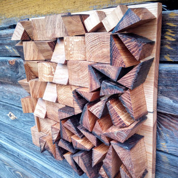 Wood Wall Art, Wood sculptures, wooden mosaics, wooden wall art, SALE