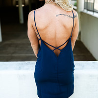 Caribbean Vacation Cut Out Dress