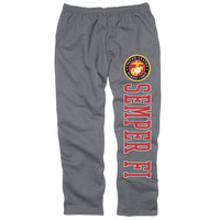 United States Marine Corps Back Home Sweatpants – Gray