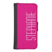 CHOOSE YOUR COLOR iPhone 5, 5S Wallet Case Custom