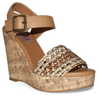 Dolce by Mojo Moxy Athena Women's Platform Wedge Sandals