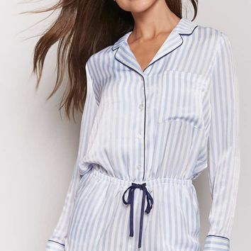 Striped Pajama Romper