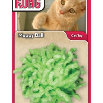 "Moppy Ball Cat Toy -  2.5""/Assorted"