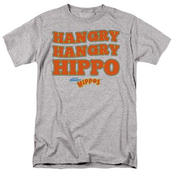 Hungry Hungry Hippos T-Shirt Hangry Athletic Heather Tee