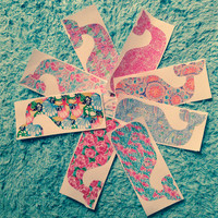 Lilly Pulitzer Inspired Whale Decal