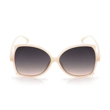 Hold The Sass Sunglasses - Beige