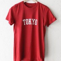 Tokyo Tee - Red