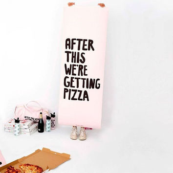 ♡ Pizza Exercise Mat - Women's Work It Out Exercise Mat ♡