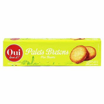 Oui Love It Palet Brenton Pure Butter Biscuits 4.4 oz. (125g)