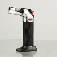Fogo Micro Butane Torch with Jet Windproof Flames Lighter