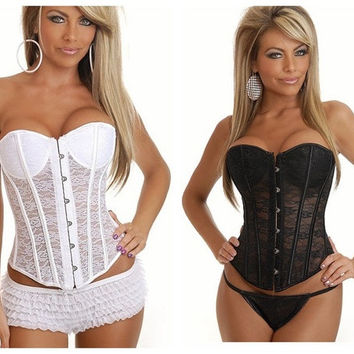 fashion Women sexy lingerie Underwear corsets Shapewear Gothic Overbust waistband Bustier Body Shaper = 1705089412