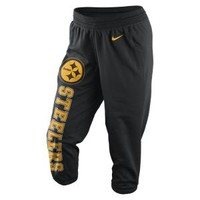 The Nike Wildcard All-Time (NFL Steelers) Women's Training Capris.