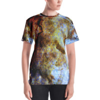 Hubble's Infinite Sacred Clouds || Women's T-shirt - Live In Love