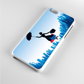 Mary Poppins Blue City iPhone 5c Case