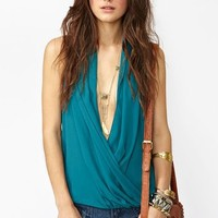 Twisted Wrap Top in  What's New at Nasty Gal