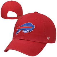47 Brand Buffalo Bills New Clean Up Adjustable Hat - Red