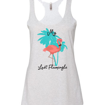 Last Flamingle Bachelorette Tank Tops