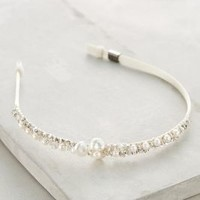 Clustered Pearl Headband by Colette Malouf White One Size Hair