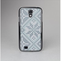 The Knitted Snowflake Fabric Pattern Skin-Sert Case for the Samsung Galaxy S4