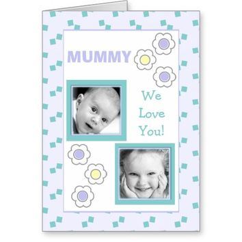 Mother's Day Card Mummy Birthday Any Occasion